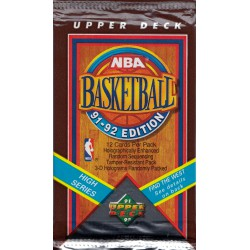 UPPER DECK 1991-1992 NBA BASKETBALL KAARDIPAKK